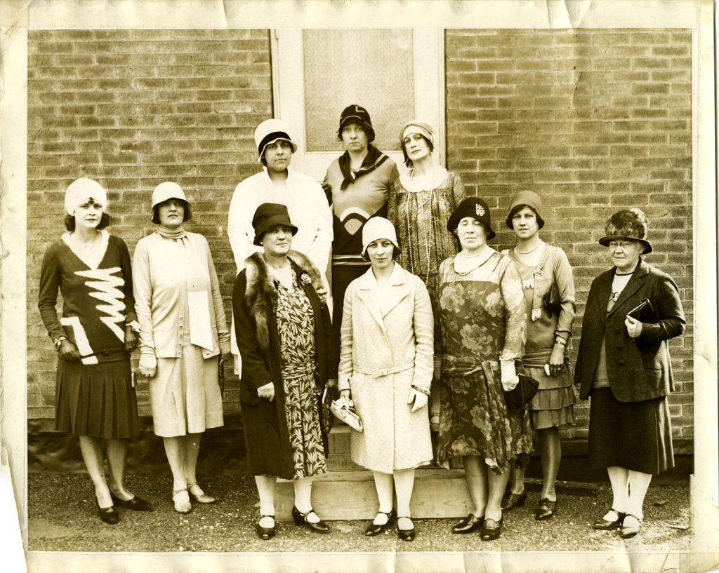 Organized Women Voters of Arlington County Executive Committee, September, 1929